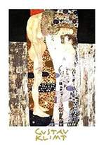 Gustav 1art1 Posters Klimt Poster Art Print - Die Drei Lebensalter (32 x 24 inches)