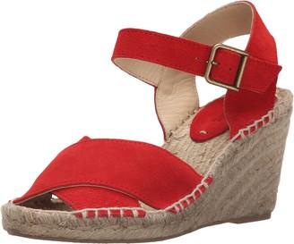 Soludos Women's Criss Cross Espadrille Wedge Sandal