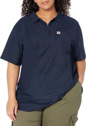 Carhartt Women's K195 Workwear Logo Short Sleeve T-Shirt