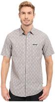 U.S. Polo Assn. Short Sleeve Slim Fit Printed Canvas Shirt