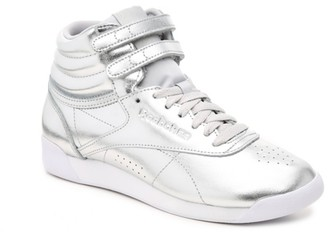Reebok Freestyle Hi Metallic High-Top Sneaker - Women's
