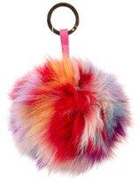 Jocelyn Fur Pom Bag Charm