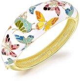 QIANSE Enamel Multicolored Butterfly Women Jewelry Bangle Bracelets With Austrian Crystal, Jewelry for Women Girlfriend Wife Daughter Mom