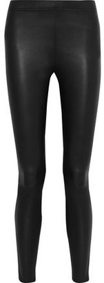 Iris & Ink Stretch-leather Leggings