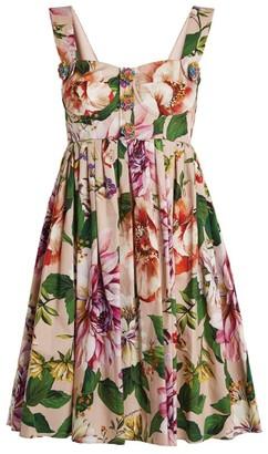 Dolce & Gabbana Floral Mini Dress