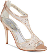 Caparros Hope Mesh Peep-Toe Evening Sandals