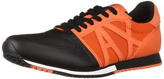 Armani Exchange A|X Men's Lace Up Sneaker with Logo