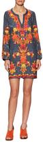 Shawl Print Short Tunic