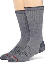 Wolverine 2-pk. Merino Wool Blend Boot Socks