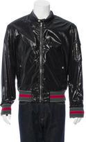 Gucci Nylon Moto Jacket