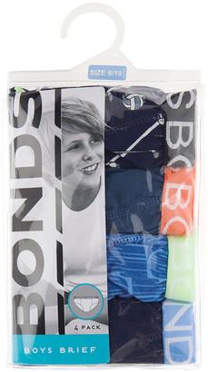 Bonds Kids Brief 4 Pack