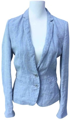 BOSS ORANGE Blue Linen Jacket for Women