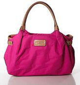 Kate Spade Pink Nylon Hobo Handbag Size Medium