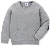 Petit Bateau Boys wool and cotton knit sweater