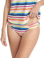 Splendid Watercolor Horizon Reversible Swim Bottom, Multicolor
