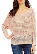 Billabong Dance With Me Open-Knit Sweater