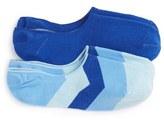 Lorenzo Uomo Men's 'Shading' No-Show Socks