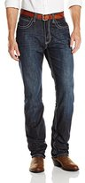"Stetson Men's 1520 Fit Bold ""X"" Stitched Jeans - 11-004-1520-4051 Bu"