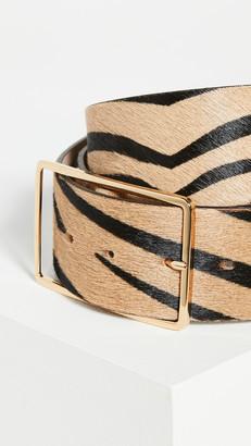 B-Low the Belt Milla Waist Calf-Hair Belt