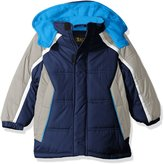 iXtreme Toddler Boys' Cut and Sew Colorblock Puffer