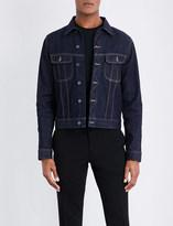 Ralph Lauren Purple Label Stitch-detail denim (Blue) jacket