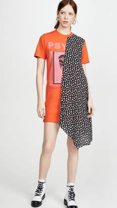McQ Hybrid Tee Dress