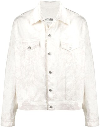 Maison Margiela Washed-Effect Denim Jacket