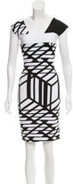 Roland Mouret Abstract Bodycon Dress