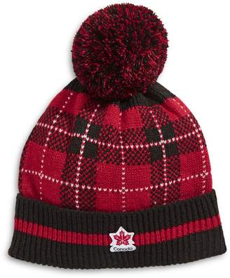 Canadian Olympic Team Collection Turn Cuff Pom-Pom Tuque