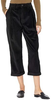 Naked & Famous Denim Ridge Pants - Seersucker Corduroy (Burgundy) Women's Clothing