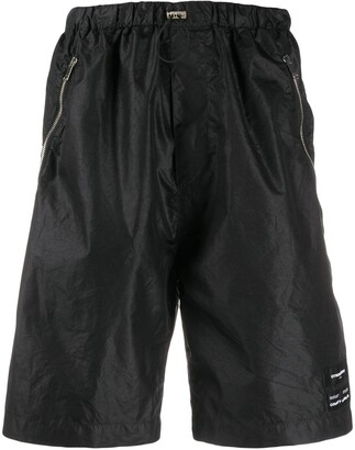 Marcelo Burlon County of Milan Drawstring Waist Shorts