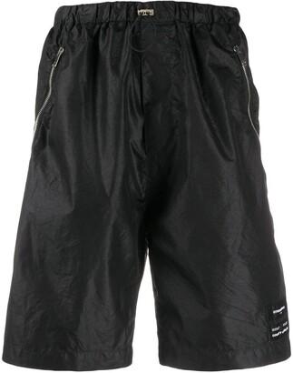 Marcelo Burlon County of Milan Drawstring Waist Shorts