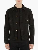 Edwin Black Classic Denim Jacket