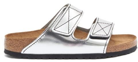 Birkenstock x Proenza Schouler Arizona Leather Sandals - Silver