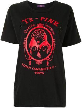 Y's logo-print slim-fit T-shirt