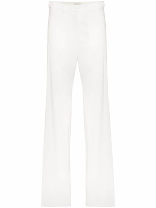 we11done Mid-Rise Straight-Leg Trousers