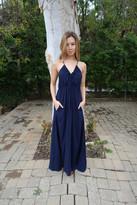 Tysa Capri Dress in Navy
