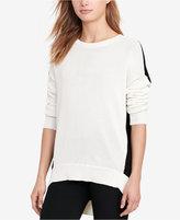 Lauren Ralph Lauren Petite Colorblocked Sweater