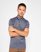 Ted Baker Mouliné polo shirt