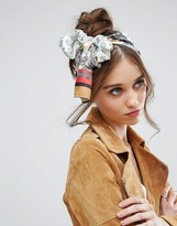 Asos Paisley Block & Patchwork Headscarf