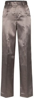 Situationist Metallic High Waisted Trousers