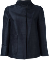 Herno patch pocket jacket - women - Polyester/Acetate - 40