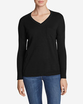 Eddie Bauer Women's Christine Pocket Pullover Sweater