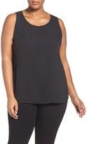 Sejour Plus Size Women's Pleat Back Top