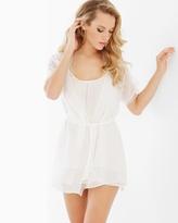 Soma Intimates Camilla Short Robe Ivory