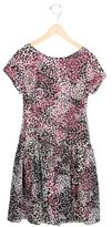 Helena Girls' Floral Print Gathered Dress w/ Tags