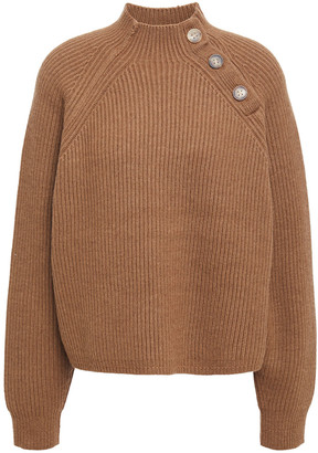 Acne Studios Ribbed Wool-blend Turtleneck Sweater