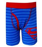 Fruit of the Loom DC Comics Superman Striped Logo Boxer Briefs for boys