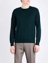Canali Crew-neck wool jumper