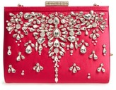 Badgley Mischka Adele Frame Clutch - Pink